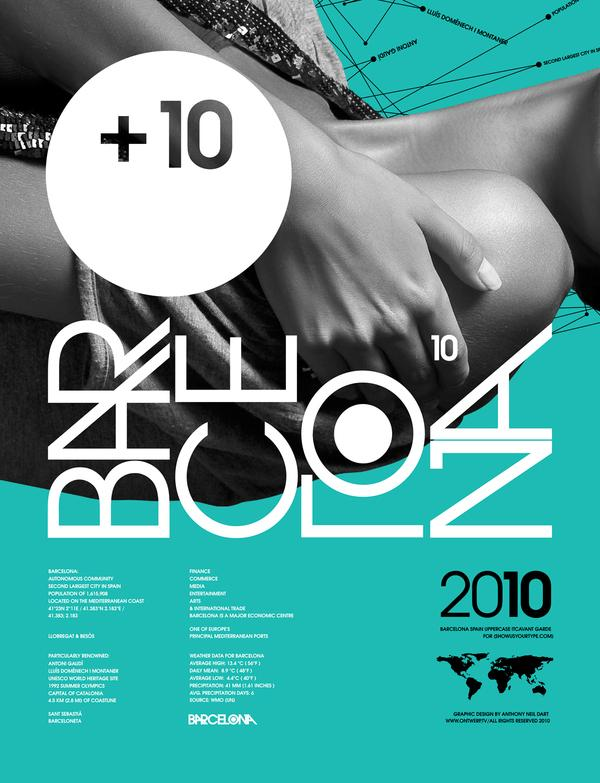Barcelona - Showusyourtype Exhibit 2010