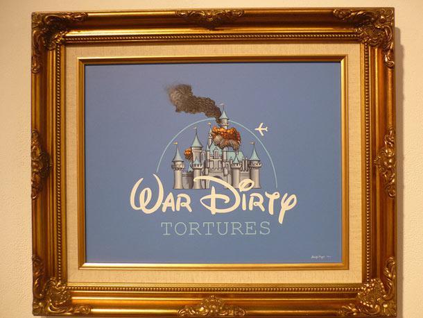 Il peint une vision trash du monde de Disney | golem13 |
