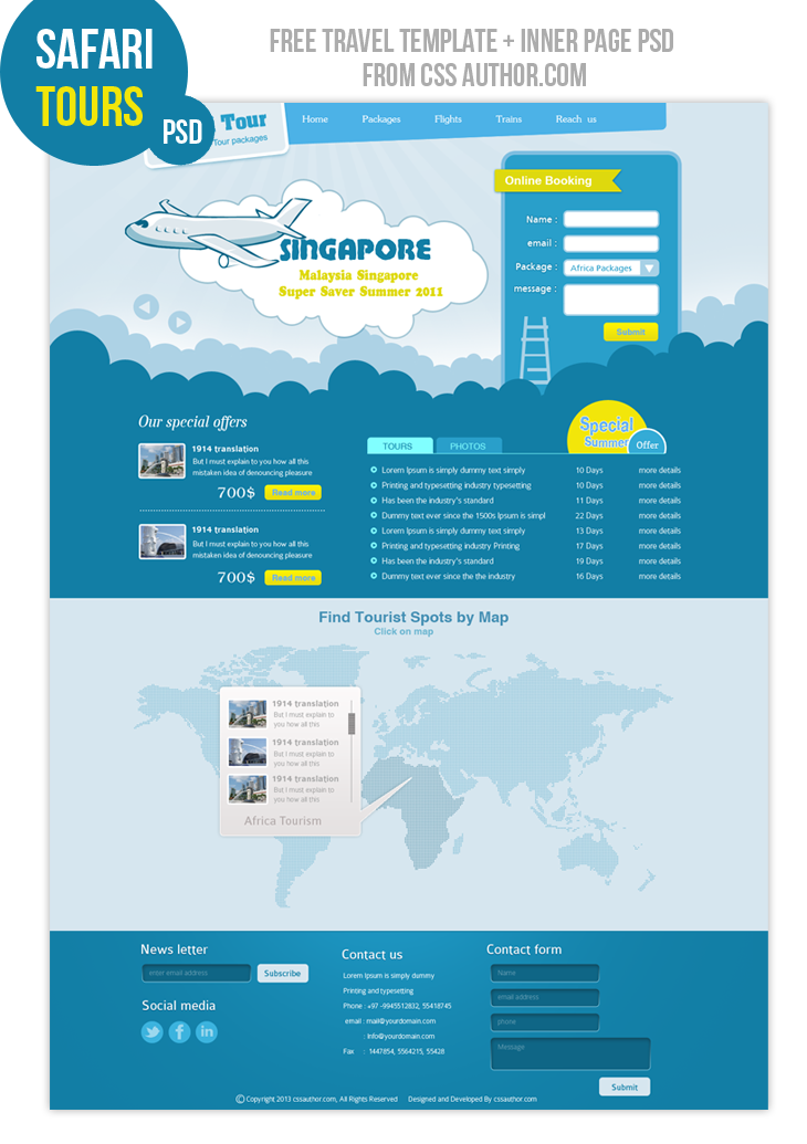 premium travel web design template psd for free freebie no 6 230369 on wookmark