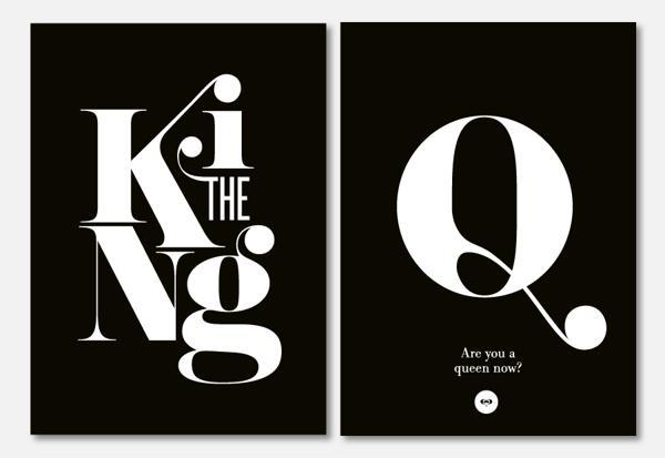 Typography by Miklós Kiss | Cuded