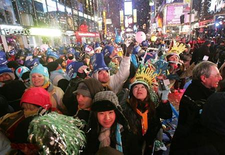 New Year's Around the World: New York's Times Square - Bing Travel