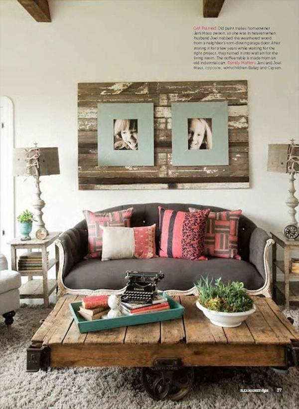 25 Imaginative New Pallet Decor Ideas For Home Pallet