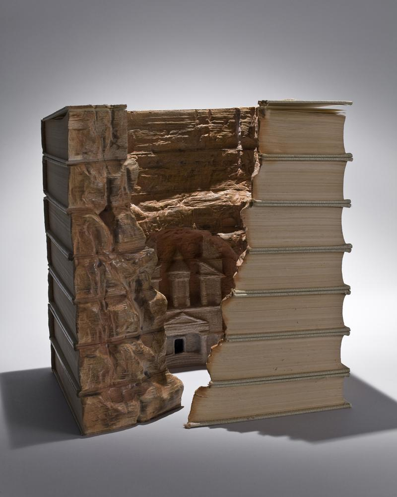 Mind Blowing Book Sculptures by Guy Laramee | inspirationfeed.com