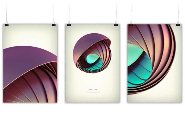 Revolved forms backgrounds by Crtomir