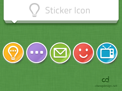 Sticker Icon by cd
