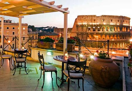 Hotels with a Jaw-Dropping View: Colosseum, Rome - Bing Travel