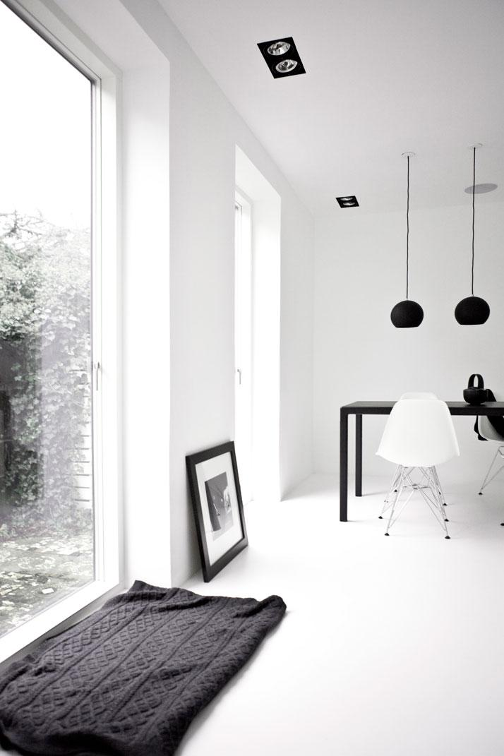 A Black & White Townhouse by Norm Architects In Copenhagen, Denmark   Yatzer