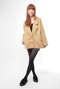 シャギーコクーンコート | ヘザー公式通販 | トレンドカジュアルファッションブランド[Heather]