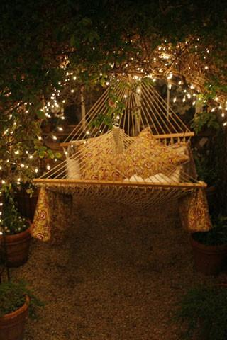 Outdoor Accents / Romantic Hammock