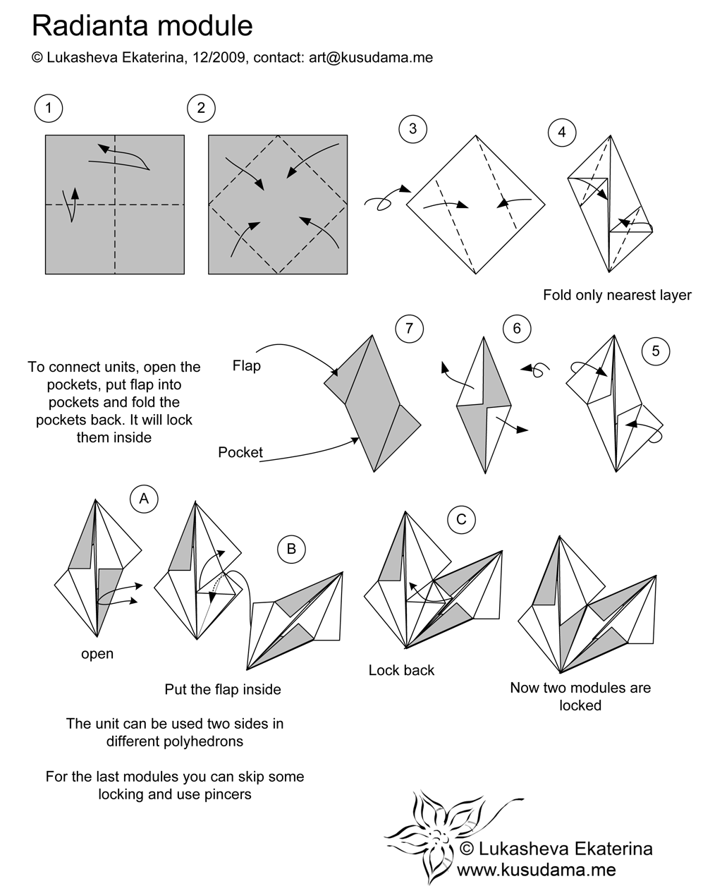 Origami Folding Instructions DoveOrigami Folding ... - photo#44