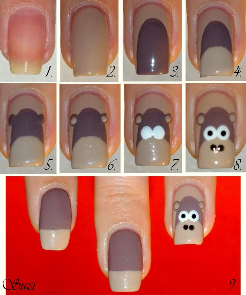 DIY Monkey Nail Design Do It Yourself Fashion Tips | DIY Fashion ...