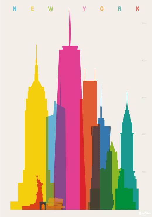 Inspiration Hut – Art and Design Blog » Simple & Colorful Arworks ...