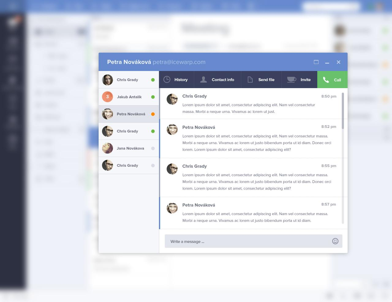 webmail-chat-preview.jpg by Jakub Antalík