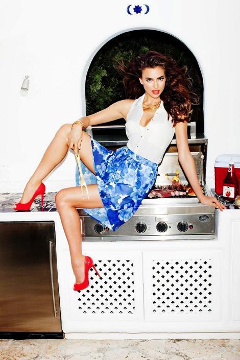 Fashion — Irina Shayk by Tony Kelly for Dynamite Campaign
