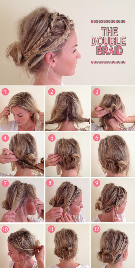 Diy double braid hairstyle do it yourself fashion tips diy diy double braid hairstyle do it yourself fashion tips diy fashion projects solutioingenieria Gallery