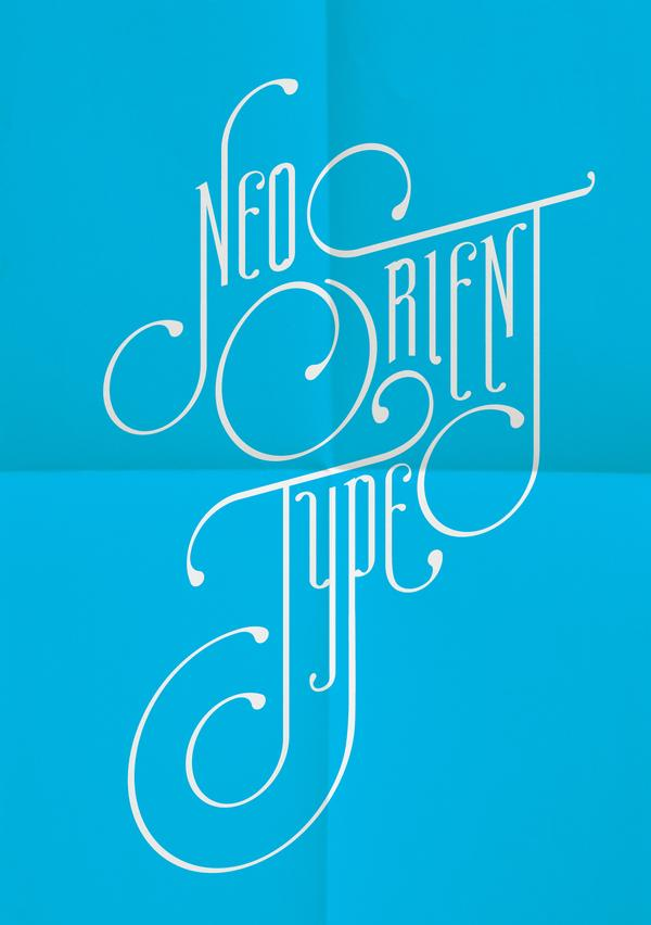 Neo Orient Type on Typography Served