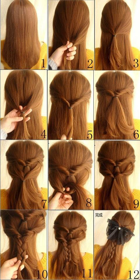 Diy nice braided hair hairstyle do it yourself fashion tips diy diy nice braided hair hairstyle do it yourself fashion tips diy fashion projects solutioingenieria Image collections
