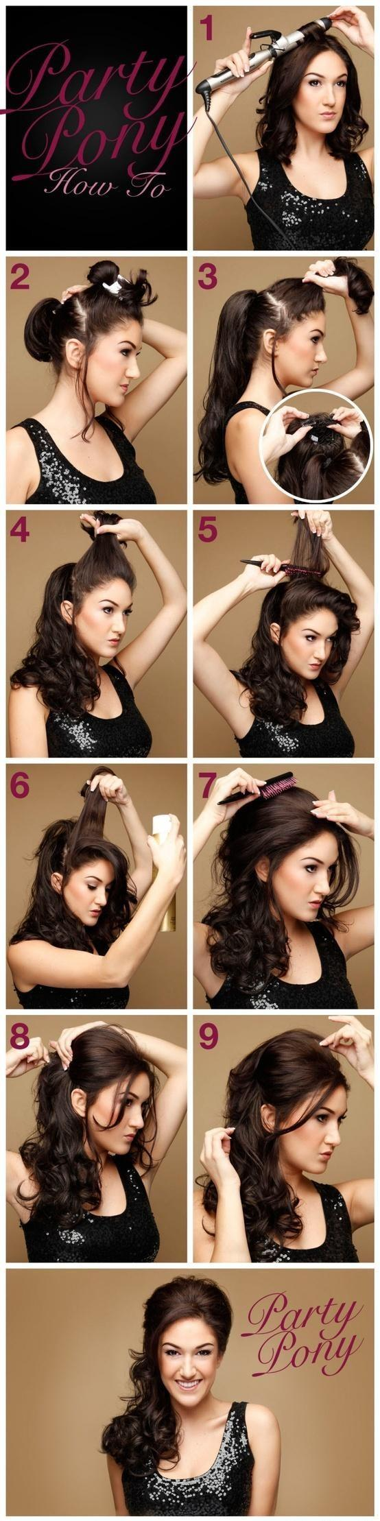 How to do party hairstyles yourself the latest trend of hairstyle 2018 indian simple hairstyles for wedding to do yourself twist and flip solutioingenieria Gallery