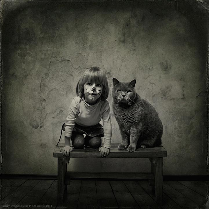 Adorable Friendship Between a Girl and Her Cat | Just Imagine – Daily Dose of Creativity
