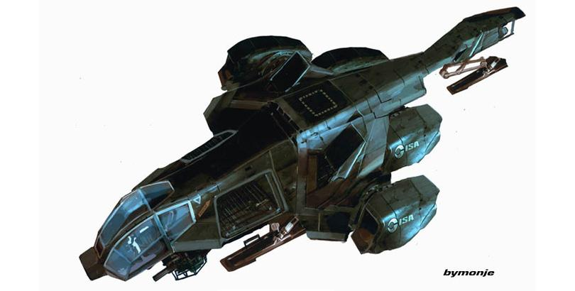 concept ships: Miguel Angel Martinez Monje concept spaceship art