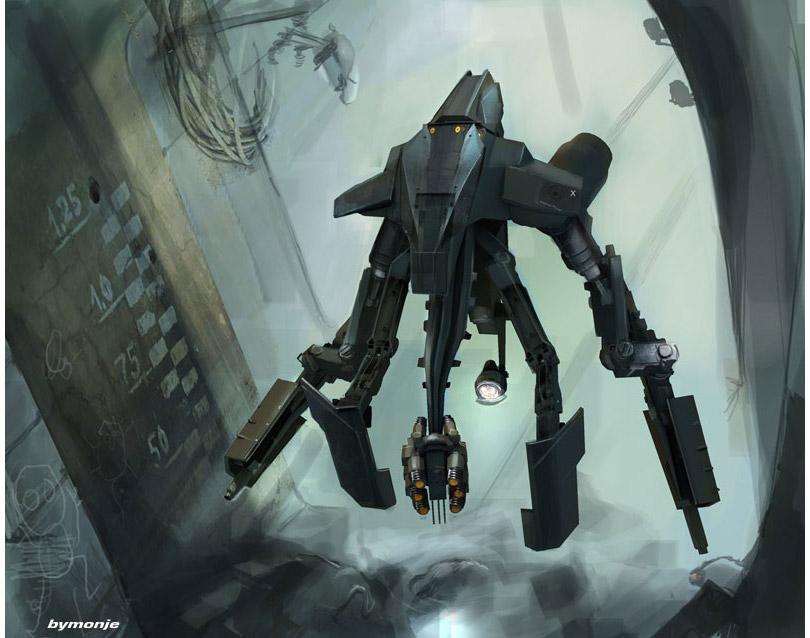 concept ships: Miguel Angel Martinez Monje concept spaceship art
