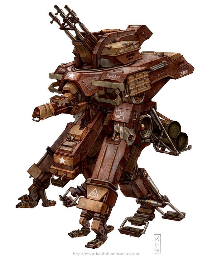 Concept Art World » 23 Inspiring Examples of Mech Concept Art