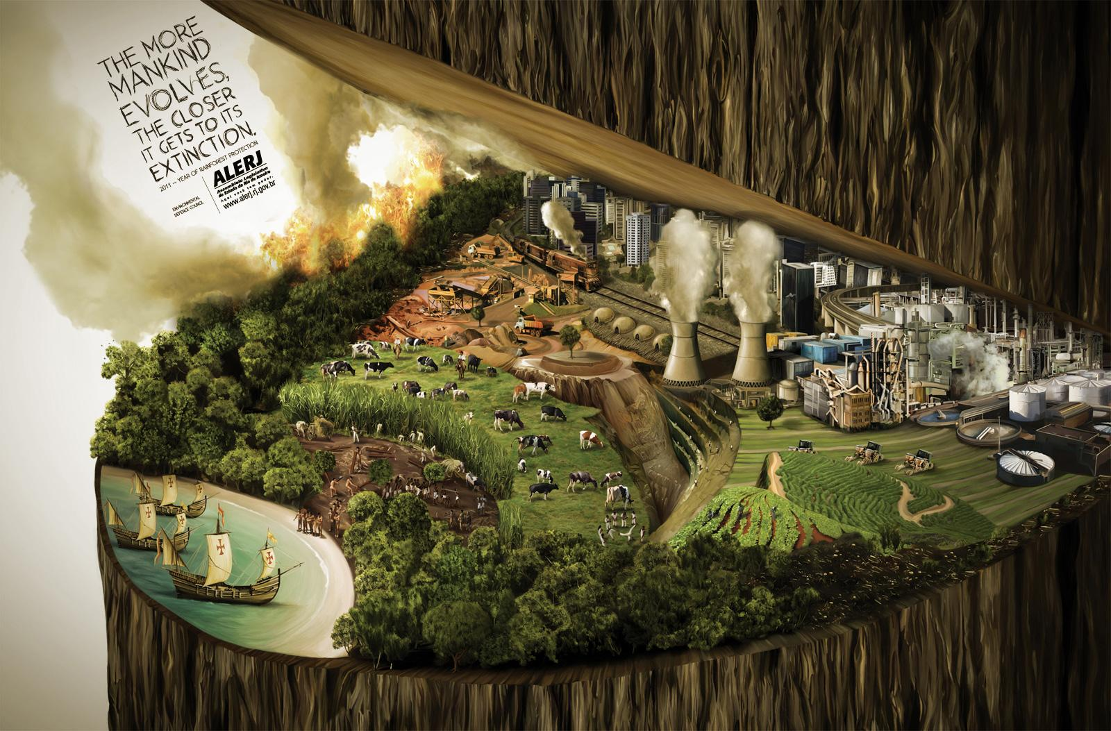 "Alerj: Rainforest protection | Ads of the Worldâ""¢"