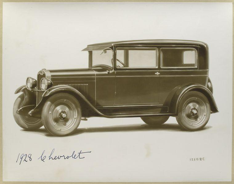 1928 Chevrolet - ID: 481784 - NYPL Digital Gallery