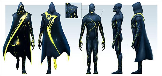 Concept Art World » Tron: Evolution Concept Art by Daryl Mandryk