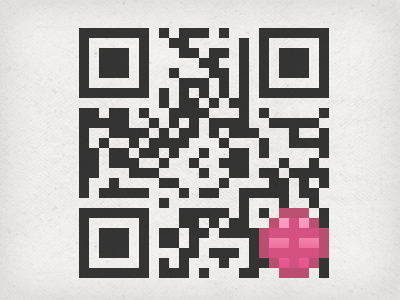 (Working) Personalized Dribbble QR Code by Jason Long