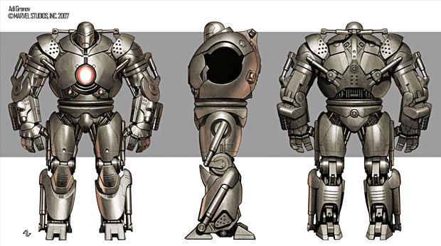 Concept Art World » Iron Man Concept Art by Adi Granov