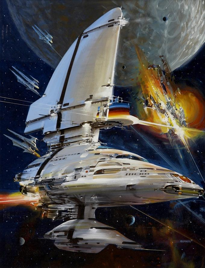Concept Art World » John Berkey (1932-2008)