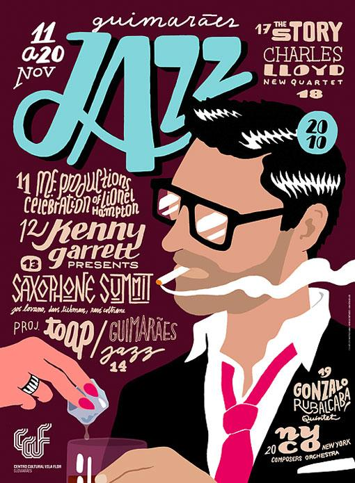 Design Work Life » 2010 Jazz Posters