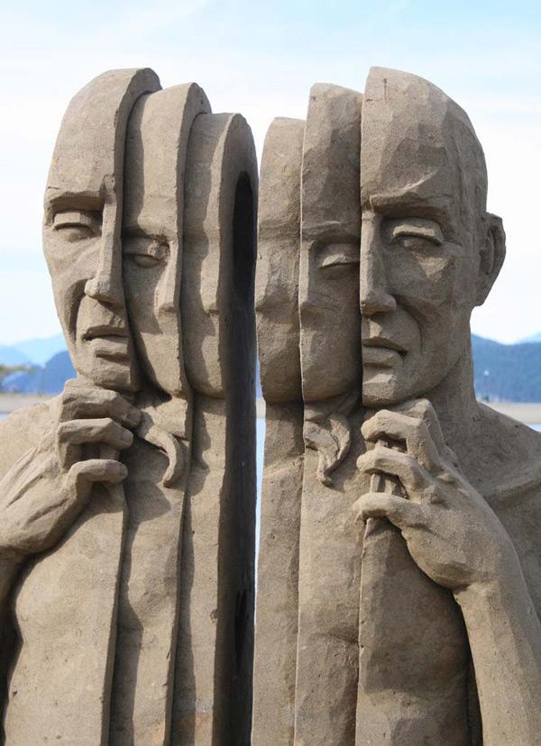 Remarkable Sand Sculptures by Carl Jara (5 Pictures) > Design und so, Sculptures > artworks, cleveland, jara, ohio, sand, sculptures