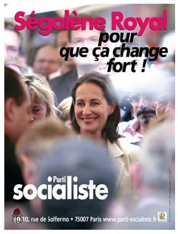 Affiches de campagne 2007 / Dossier Affiches politiques / LePolitique.com