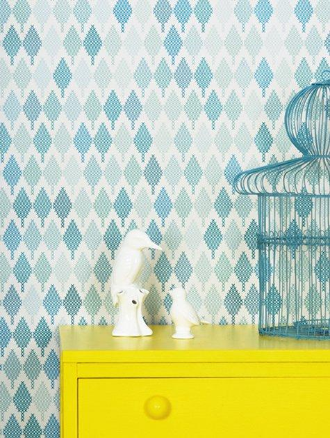studio rita wallpaper | Design*Sponge