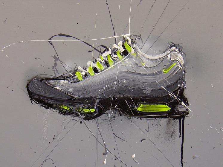 Wet Paint Nike – Dave White – Illustrators & Artists Agents – Début Art