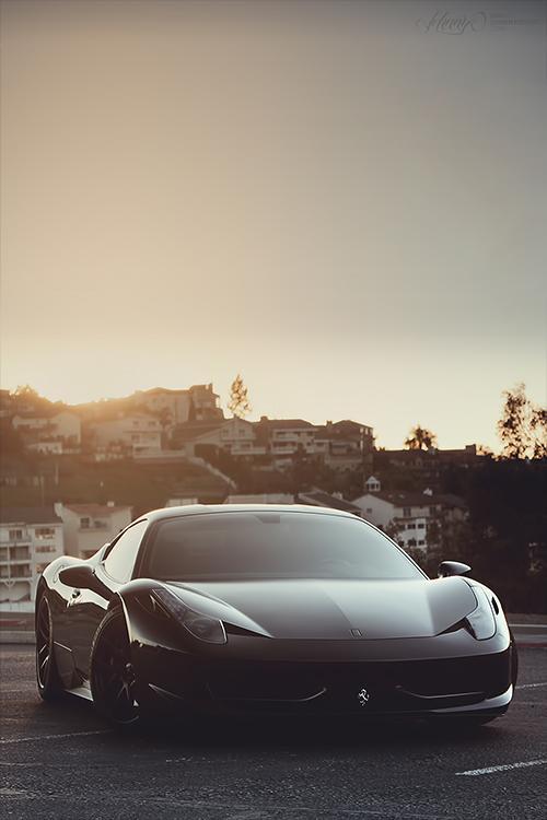 La Musique Graphique | auerr: Ferrari 458 Italia