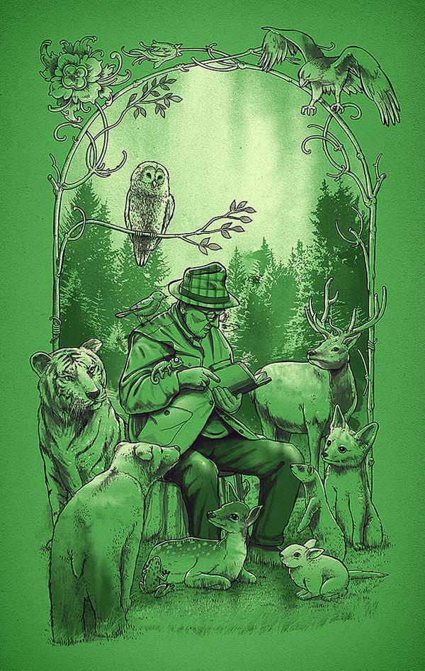 'An Animal's Tale' by dzeri29   Society6