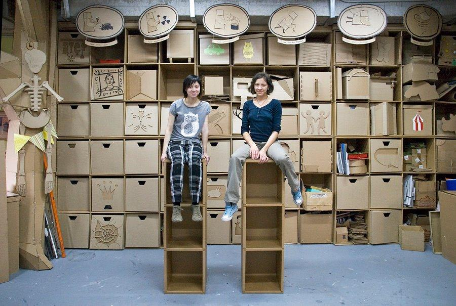 Cardboard Furniture Collection Design by Made in Cardboardia ...