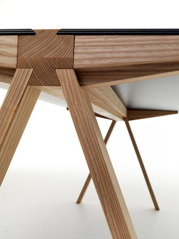Traverso Table Design By Francesco Faccin Furniture