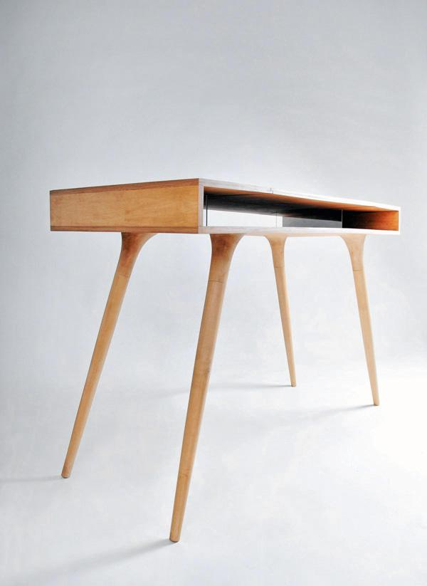 Wooden Desk Design by Shpelyk Roman - Furniture Design Blog - Furniture  Design Ideas | Furniii