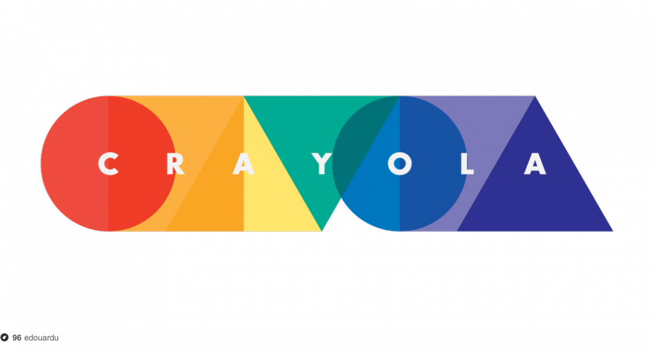 Crayola Rebrand on Dropula - The inspirational catalogue