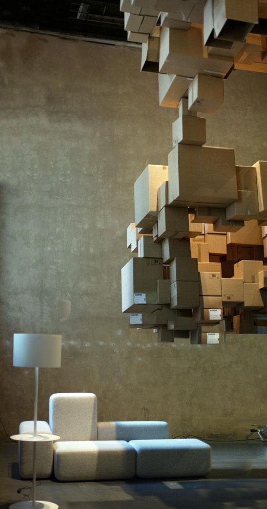 fantastic norway architects: 'cardboard cloud'