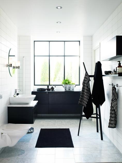 Piccsy :: Black And White Bathroom