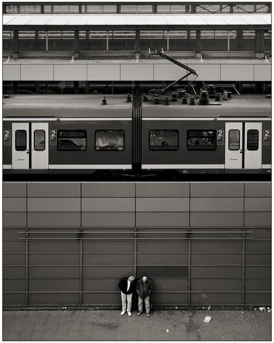 Prachtige symmetrische zwart-wit foto's « Froot.nl