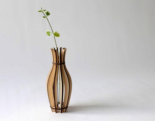 Fin Vase By Flat Packables | Design Milk