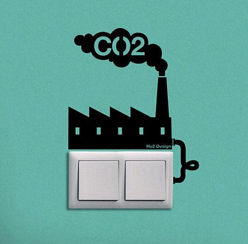 40 Innovative Wall Stickers by Hu2 Design   inspirationfeed.com