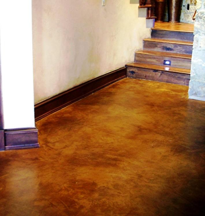 Concrete Floor Paint An Interesting Interior Pin 244442 On Wookmark