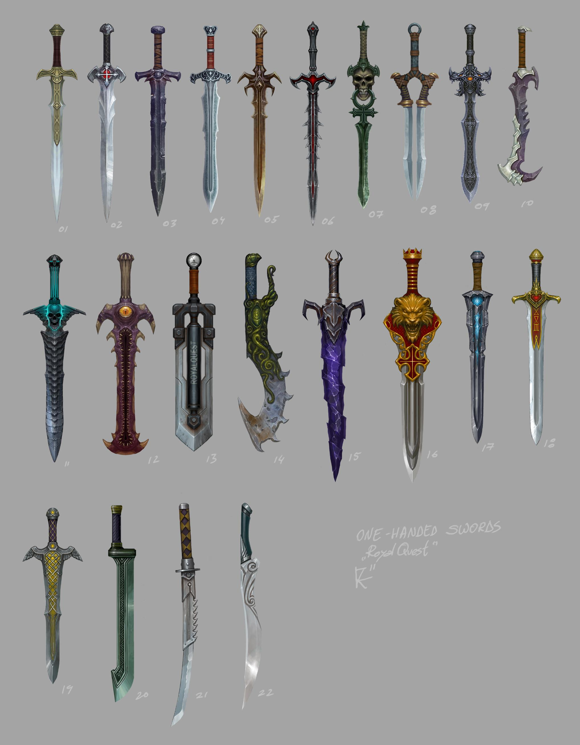 Game Art - weapons. update 16th december - ConceptArt.org Forums
